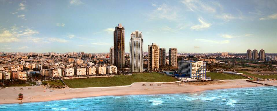 New apartments in Bat Yam New penthouses for sale in Bat Yam