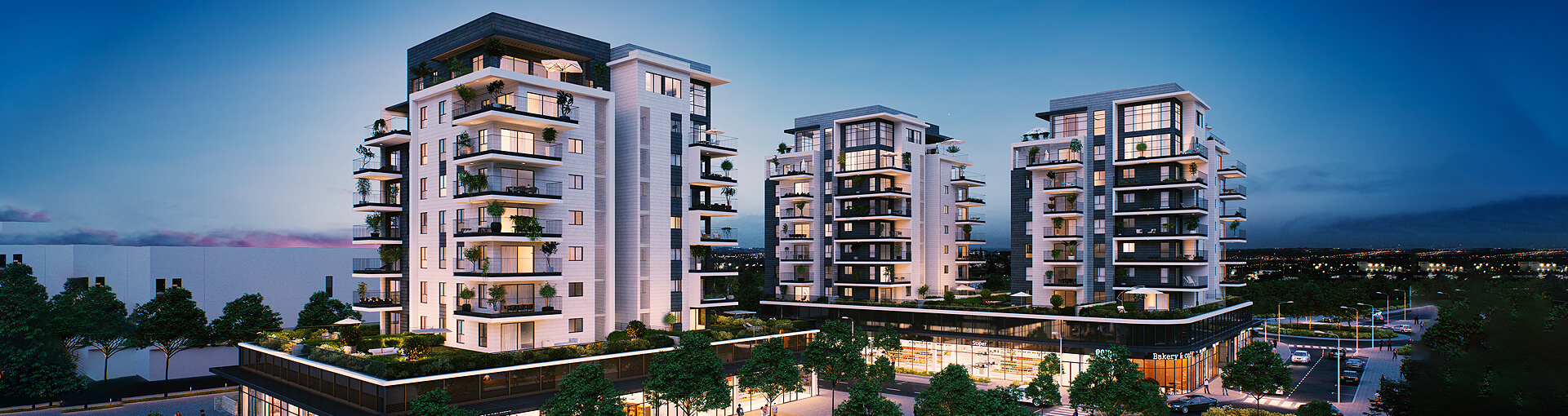 New apartments for sale in Glil Yam