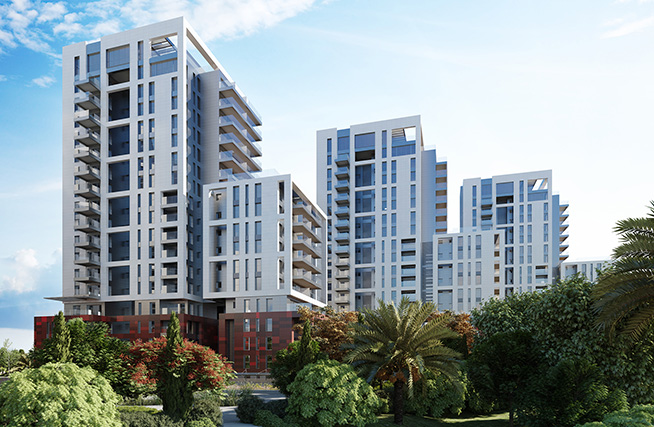 New apartments for sale in Herzliya