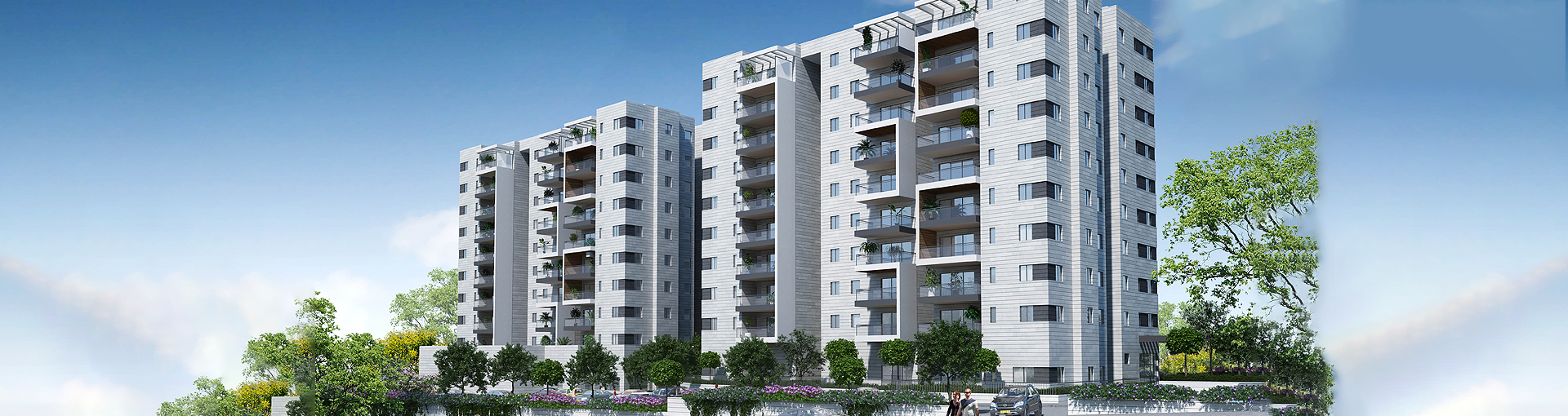 Appartments for sale in New Rehovot - Azorim