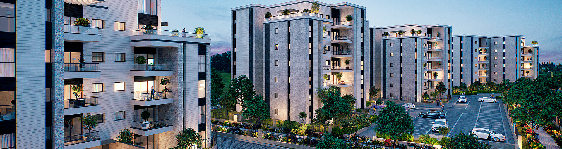 New apartments for sale in Shoham